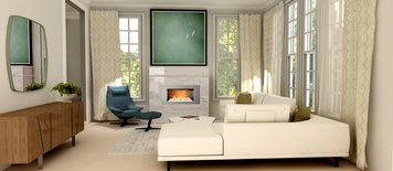Online design Contemporary Living Room by Theresa W. thumbnail
