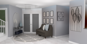 Online design Contemporary Hallway/Entry by Amber K. thumbnail
