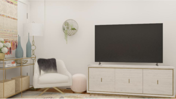 Online design Glamorous Bedroom by Greta Z. thumbnail
