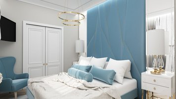 Online design Glamorous Bedroom by Ioana A. thumbnail