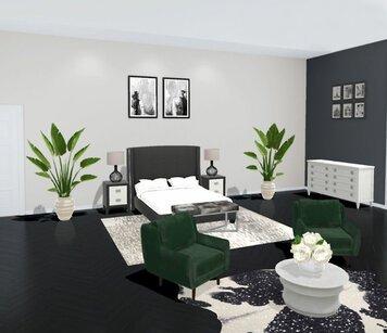 Online design Eclectic Bedroom by Liz C. thumbnail