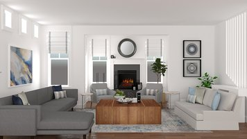 Online design Contemporary Living Room by Jessica S. thumbnail