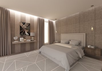 Online design Contemporary Bedroom by Yana K. thumbnail