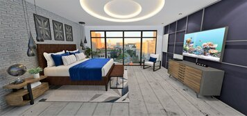 Online design Transitional Bedroom by RoWanna L. thumbnail