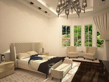 Online design Contemporary Bedroom by Lidija P. thumbnail
