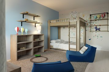 Online design Transitional Bedroom by Tiara M. thumbnail