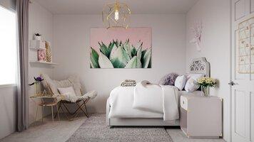 Online design Glamorous Bedroom by Sarah M. thumbnail