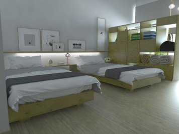 Online design Contemporary Bedroom by Eleni M. thumbnail