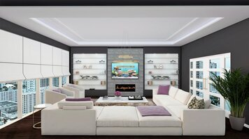 Online design Traditional Living Room by RoWanna L. thumbnail