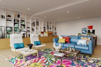 Online design Modern Living Room by Drew F. thumbnail