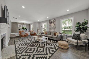 Online design Modern Living Room by Alissa A. thumbnail