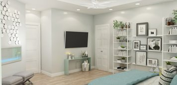 Online design Contemporary Bedroom by Brittany J. thumbnail