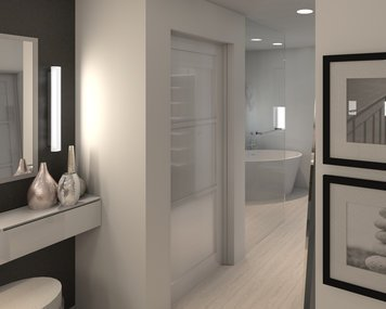 Online design Contemporary Bathroom by Lynda N thumbnail