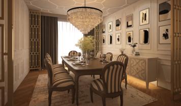 Online design Glamorous Dining Room by Atif N. thumbnail