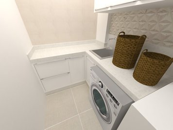 Online design Modern Kitchen by Luciana N. thumbnail