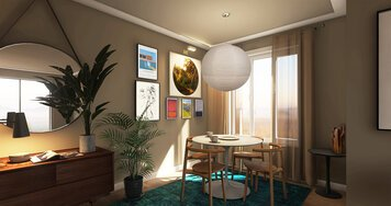 Online design Contemporary Dining Room by Erin R. thumbnail