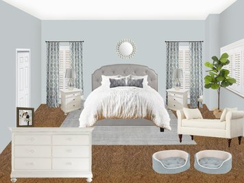 Online design Transitional Bedroom by Amisha D. thumbnail