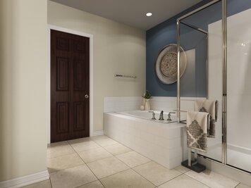 Online design Eclectic Bathroom by Lauren A. thumbnail