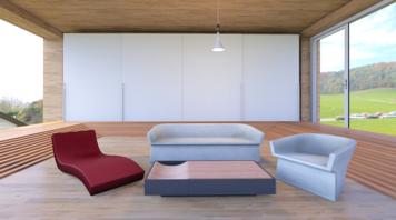 Online design Modern Living Room by Jennifer S. thumbnail