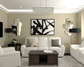Online design Modern Living Room by Jessica S. thumbnail