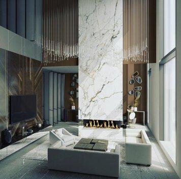 Online design Modern Living Room by Yana K. thumbnail