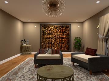 Online design Transitional Living Room by Mini G. thumbnail