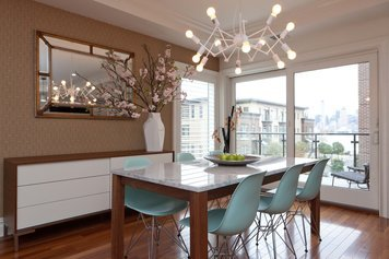 Online design Contemporary Combined Living/Dining by Andres S. thumbnail