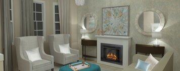 Online design Glamorous Living Room by Merry M. thumbnail