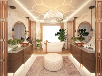 Online design Glamorous Bathroom by Atif N. thumbnail