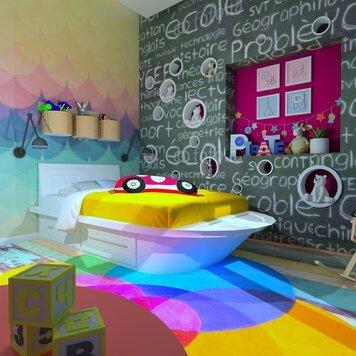 Online design Modern Bedroom by Ahmed E. thumbnail