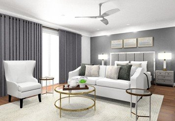 Online design Transitional Bedroom by Noraina Aina M. thumbnail