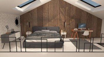 Online design Modern Bedroom by Lidija P. thumbnail