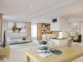 Online design Contemporary Living Room by Romain D. thumbnail