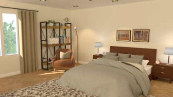 Online design Transitional Bedroom by Mini G. thumbnail