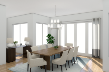 Online design Contemporary Dining Room by Picharat A.  thumbnail
