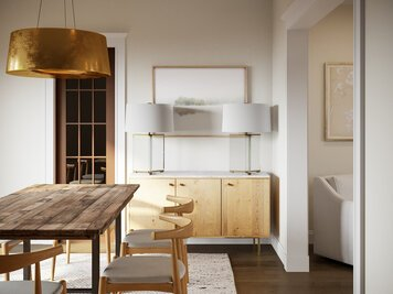 Online design Modern Dining Room by Courtney B. thumbnail