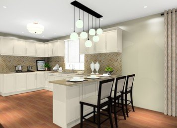 Online design Traditional Kitchen by Noraina Aina M. thumbnail