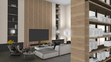 Online design Contemporary Living Room by Ilaria C. thumbnail