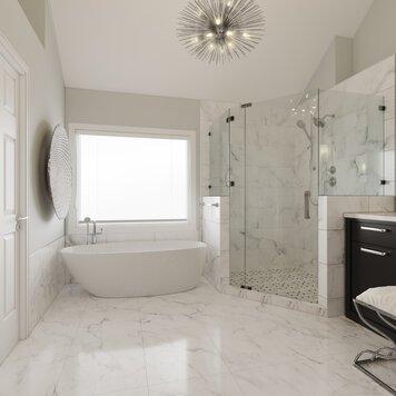 Online design Transitional Bathroom by Wanda P. thumbnail