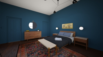 Online design Eclectic Bedroom by Emily P. thumbnail