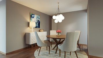 Online design Contemporary Dining Room by Tiara M. thumbnail