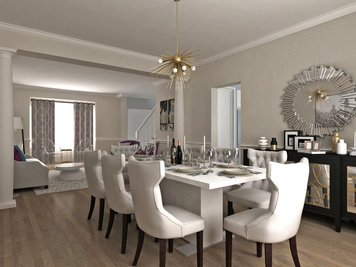 Online design Glamorous Combined Living/Dining by Dragana V. thumbnail