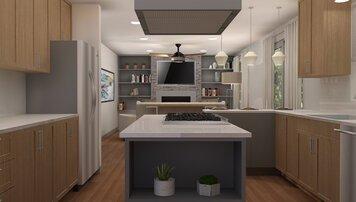 Online design Modern Kitchen by Ani K. thumbnail