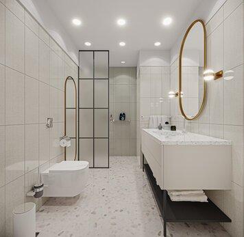 Online design Eclectic Bathroom by Seda G. thumbnail