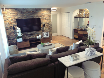 Online design Transitional Living Room by Taize M. thumbnail