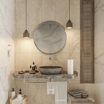 Online design Contemporary Bathroom by Rehan A. thumbnail