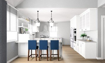 Online design Transitional Kitchen by Noraina Aina M. thumbnail