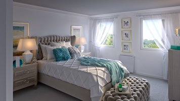 Online design Glamorous Bedroom by Aoife T. thumbnail