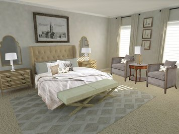 Online design Traditional Bedroom by Vera B. thumbnail