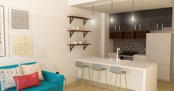 Online design Contemporary Kitchen by Deandra G. thumbnail